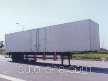 Huguang HG9213XXY box body van trailer