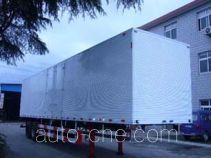 Huguang HG9213XXY box body van trailer