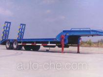 沪光牌HG9225TDP型低平板半挂车