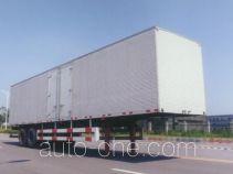 Huguang HG9271XXY box body van trailer