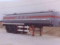 沪光牌HG9281GHY型化工液体运输半挂车