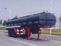 沪光牌HG9282GHY型化工液体运输半挂车