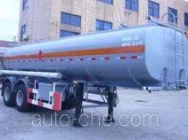 沪光牌HG9284GYY型运油半挂车