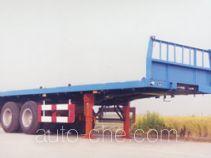 沪光牌HG9310TJZ型集装箱运输半挂车