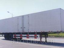 Huguang HG9331XXY box body van trailer