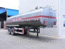 Huguang HG9341GHY chemical liquid tank trailer