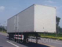Huguang HG9405XXY box body van trailer