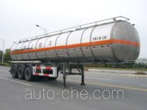 Huguang HG9408GHY chemical liquid tank trailer