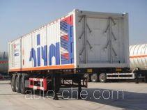 Enric HGJ9370GGY high pressure gas long cylinders transport trailer