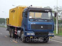 Gaoyuan Shenggong HGY5250TXJ slurry seal coating truck