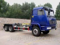 Shihuan HHJ5250ZXX detachable body garbage truck