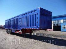 Beifang HHL9405XXY box body van trailer