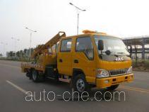 恒合牌HHR5070TQX型公路护栏抢修车