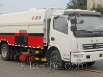 Heron hybrid street sweeper truck