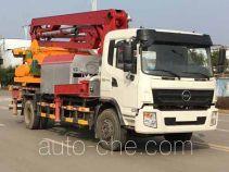 恒润牌HHR5160THB4HQ型混凝土泵车