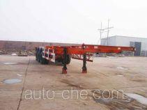 Zhengkang Hongtai HHT9360TJZ container transport skeletal trailer