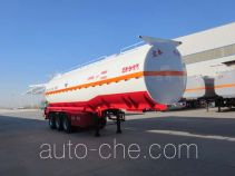 Zhengkang Hongtai HHT9400GFWA corrosive materials transport tank trailer