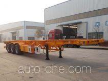 Zhengkang Hongtai HHT9400TWY dangerous goods tank container skeletal trailer