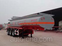 正康宏泰牌HHT9401GFW型腐蚀性物品罐式运输半挂车