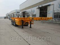 Zhengkang Hongtai HHT9401TWY dangerous goods tank container skeletal trailer