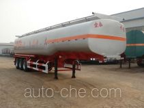 Zhengkang Hongtai HHT9403GRY flammable liquid tank trailer