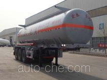 Zhengkang Hongtai HHT9406GFW corrosive materials transport tank trailer