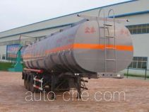 正康宏泰牌HHT9406GHYA型化工液体运输半挂车