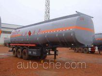 正康宏泰牌HHT9407GHYA型化工液体运输半挂车