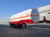Zhengkang Hongtai HHT9408GFW corrosive materials transport tank trailer