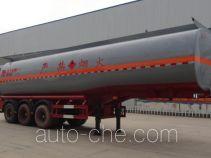 Zhengkang Hongtai HHT9409GRY flammable liquid tank trailer