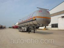 Zhengkang Hongtai HHT9409GRYB flammable liquid aluminum tank trailer