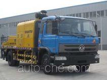 楚天牌HJC5120THB型车载式混凝土泵车