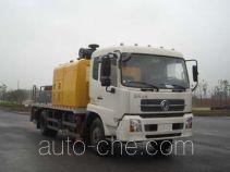 楚天牌HJC5121THB型车载式混凝土泵车