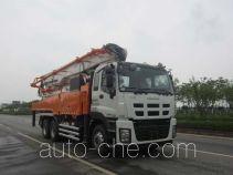 楚天牌HJC5335THB型混凝土泵车