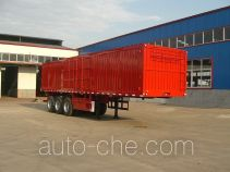Jinjunwei HJF9370XXY box body van trailer