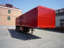 Jinjunwei HJF9400XXY box body van trailer