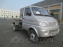 Jinggong Chutian HJG5033ZXX detachable body garbage truck