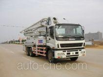 Jinggong Chutian HJG5250THB concrete pump truck