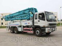 Jinggong Chutian HJG5280THB concrete pump truck