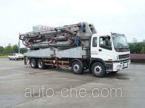 Jinggong Chutian HJG5380THB concrete pump truck