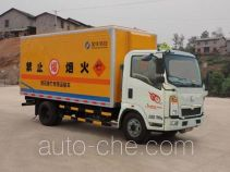 Qierfu HJH5081XYNZZ4 fireworks and firecrackers transport truck