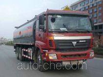 Qierfu HJH5253GHYB chemical liquid tank truck