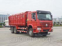 Jiangshan Shenjian HJS5256ZLJP2 dump garbage truck