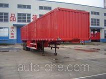Jijun HJT9320XXY box body van trailer
