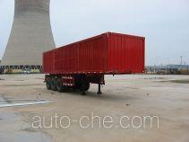 Jijun HJT9380XXY box body van trailer