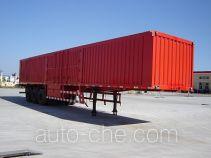 Jijun HJT9400XXY box body van trailer