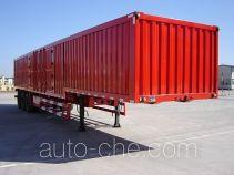 Jijun HJT9401XXY box body van trailer