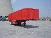 Jijun HJT9406XXY box body van trailer
