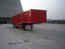Jijun HJT9405XXY box body van trailer