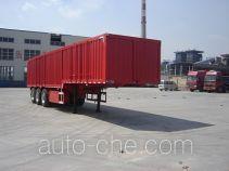 Jijun HJT9407XXY box body van trailer